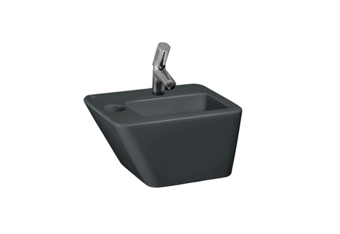 Il Bagno Alessi dOt small washbasin with integrated siphon ...
