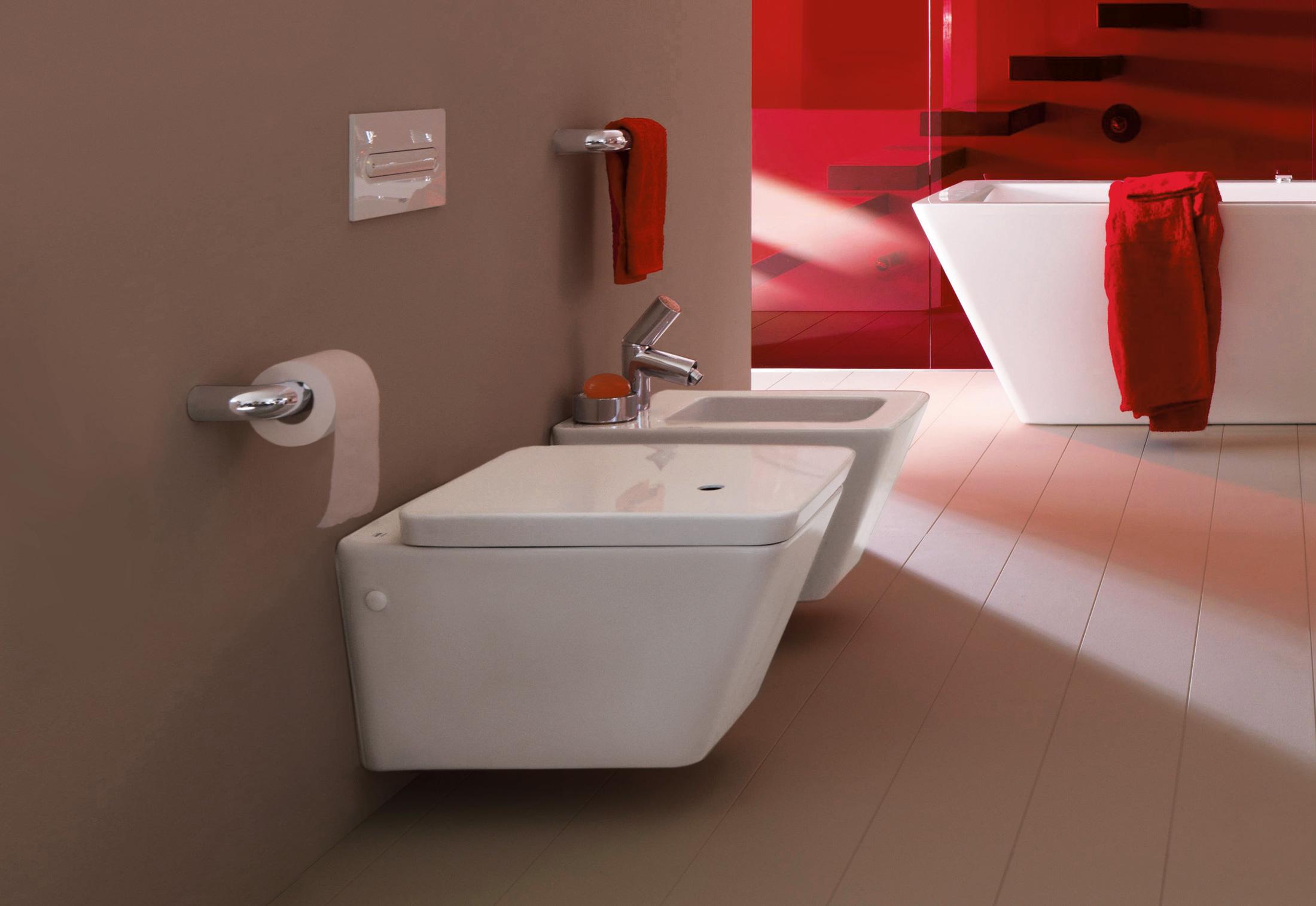 Il bagno alessi dot wallhung bidet by laufen stylepark - Il bagno magazine ...