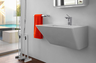 Il Bagno Alessi dOt washbasin with integrated siphon cover  by  Laufen