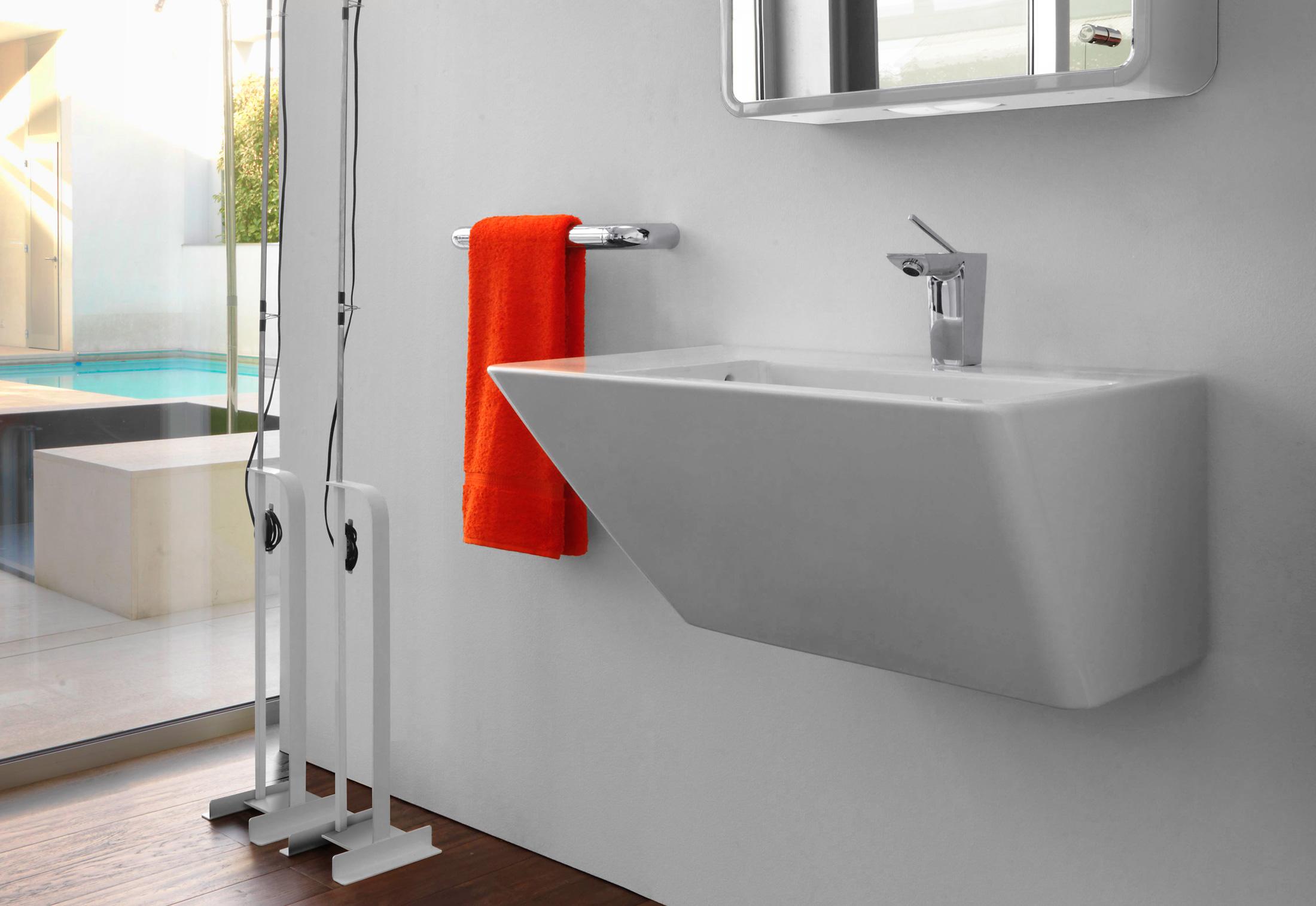 il bagno alessi dot waschtisch mit integrierter. Black Bedroom Furniture Sets. Home Design Ideas