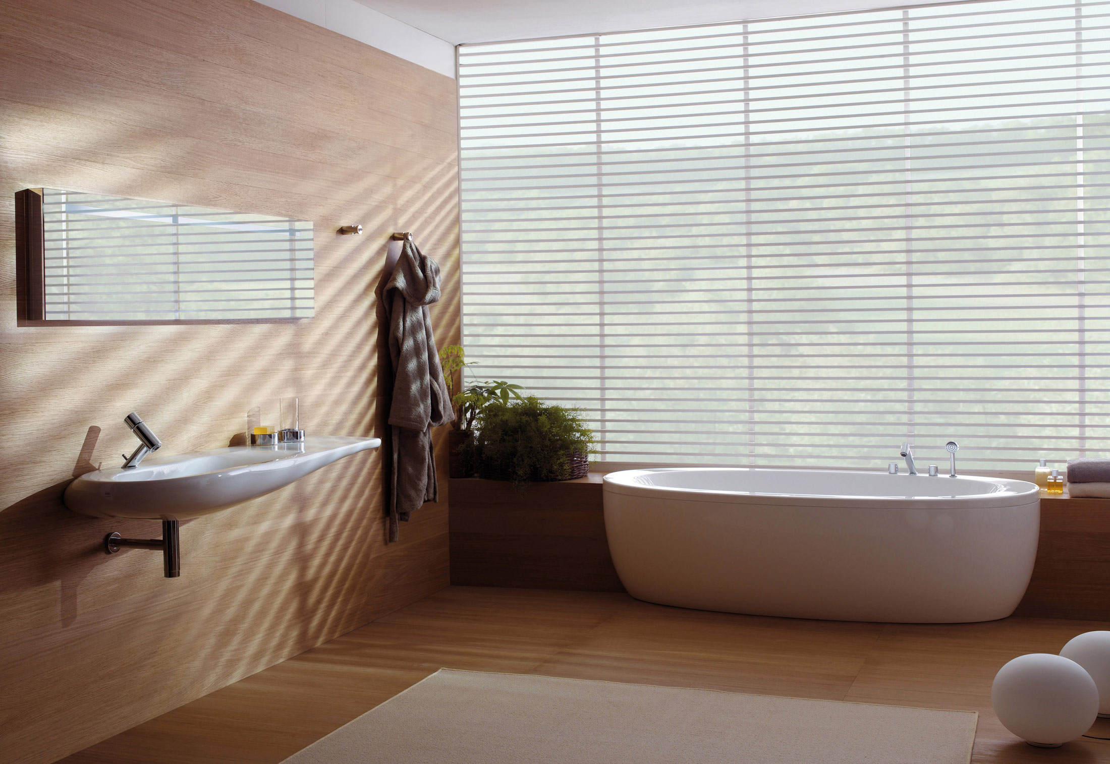 Il Bagno Alessi One bath tub by Laufen | STYLEPARK