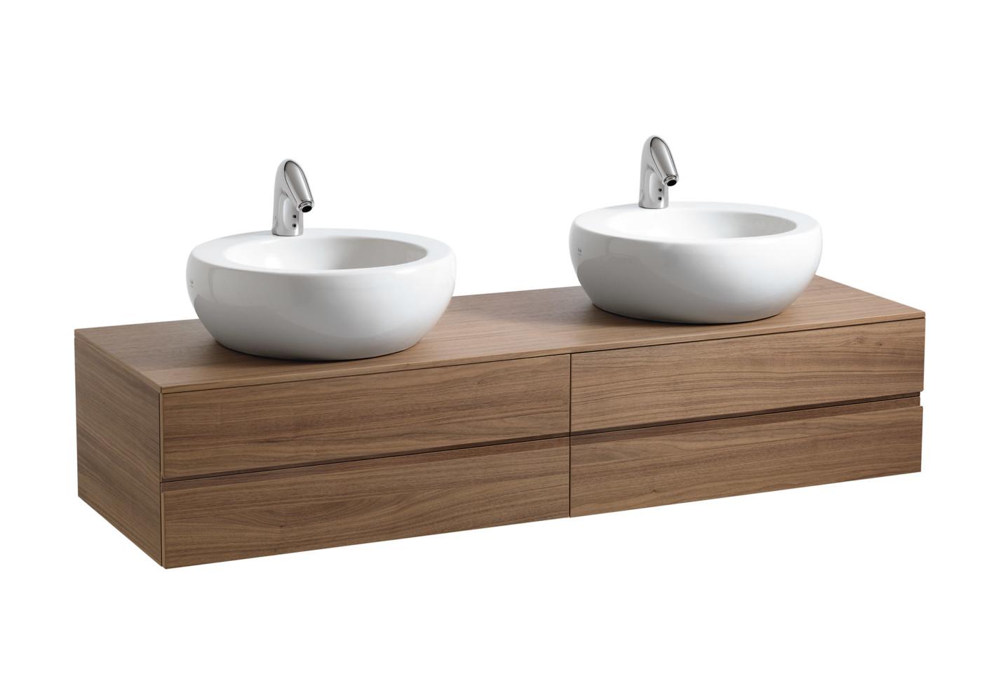 il bagno alessi one waschtischschale doppelt von laufen. Black Bedroom Furniture Sets. Home Design Ideas