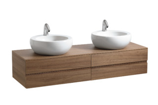 Il Bagno Alessi One double washbasin bowl  by  Laufen