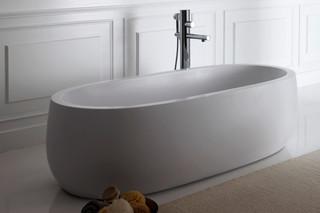 Il Bagno Alessi One freestanding bathtub  by  Laufen