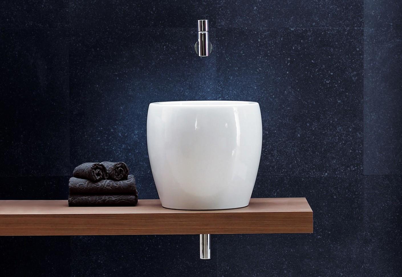 Il bagno alessi one single washbasin half tam tam by - Il bagno alessi ...