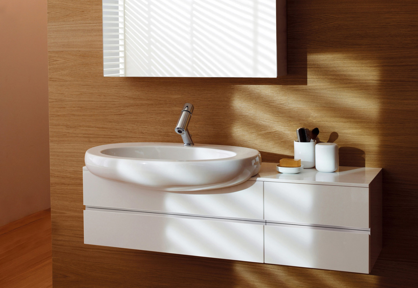 Il bagno alessi one single washtable bowl by laufen - Il bagno magazine ...