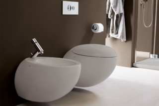 Il Bagno Alessi One wall mounted bidet  by  Laufen