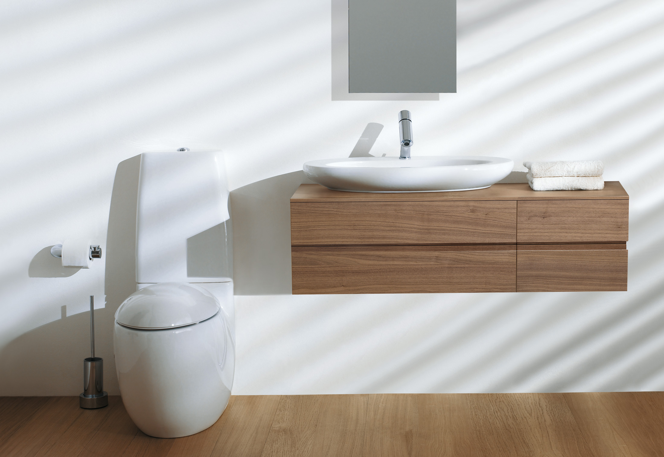 il bagno alessi one wc hoch von laufen stylepark. Black Bedroom Furniture Sets. Home Design Ideas