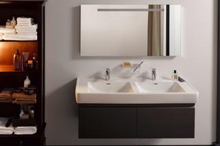 Laufen pro A double wash basin  by  Laufen