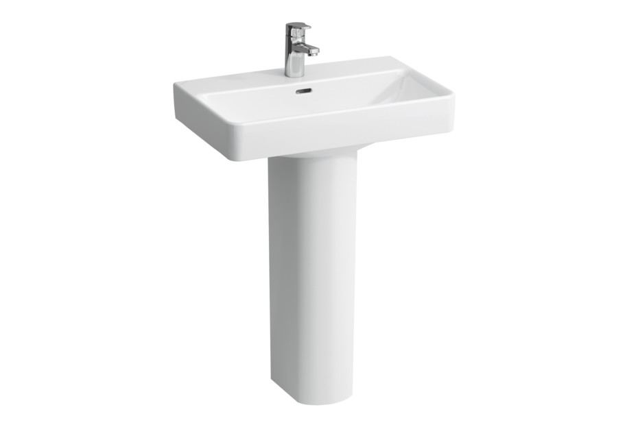 Laufen pro compact wash basin S with pedestal