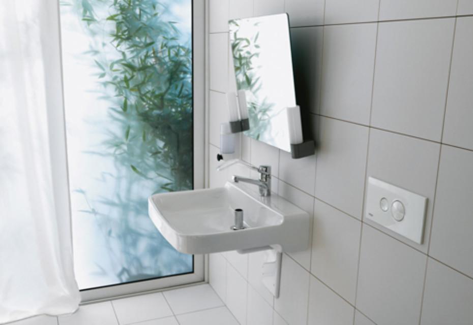 Laufen pro liberty wash basin, barrier-free