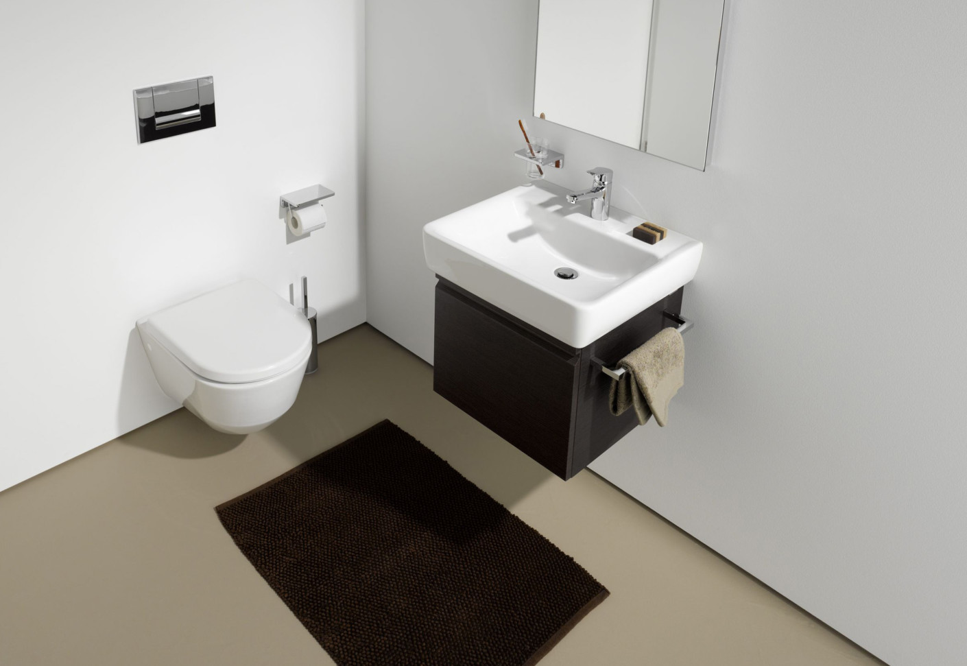 laufen pro waschtischunterbau von laufen stylepark. Black Bedroom Furniture Sets. Home Design Ideas