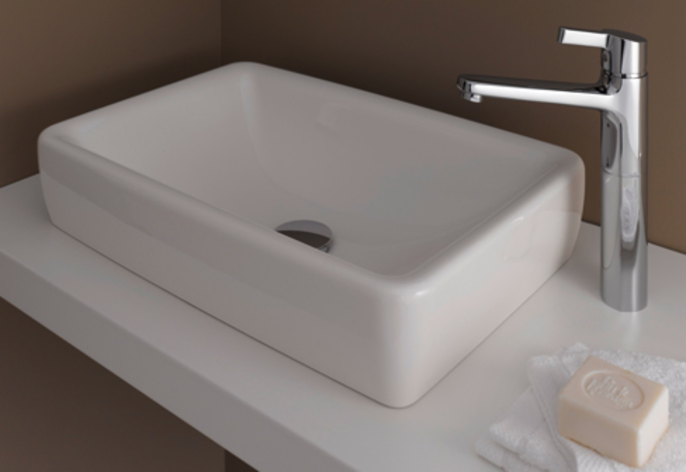 laufen pro s waschtisch schale von laufen stylepark. Black Bedroom Furniture Sets. Home Design Ideas