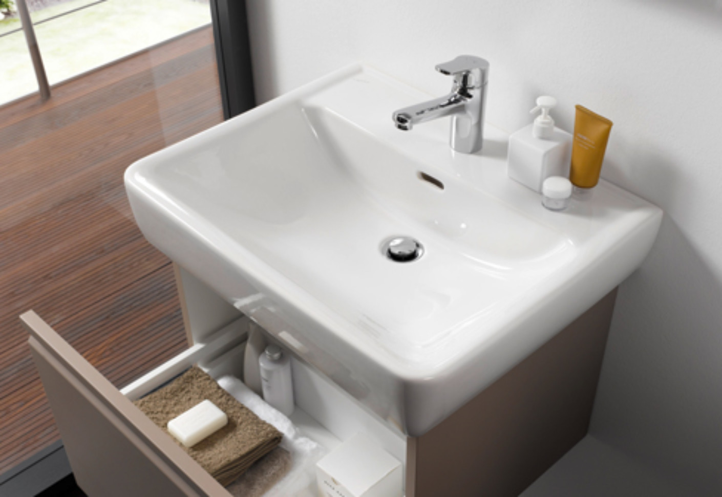 laufen pro washbasin a by laufen stylepark. Black Bedroom Furniture Sets. Home Design Ideas