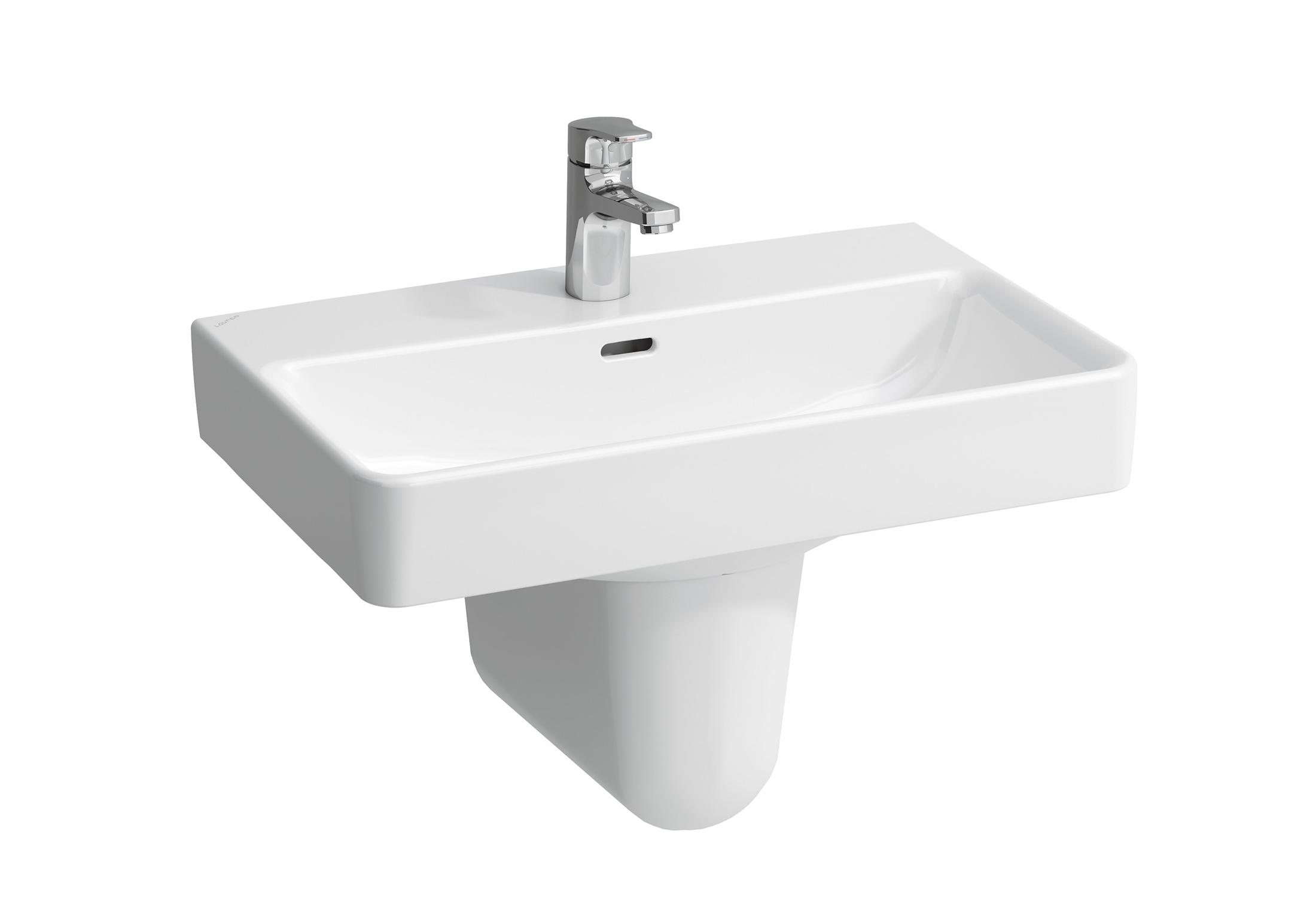 laufen pro s waschtisch mit s ule von laufen stylepark. Black Bedroom Furniture Sets. Home Design Ideas