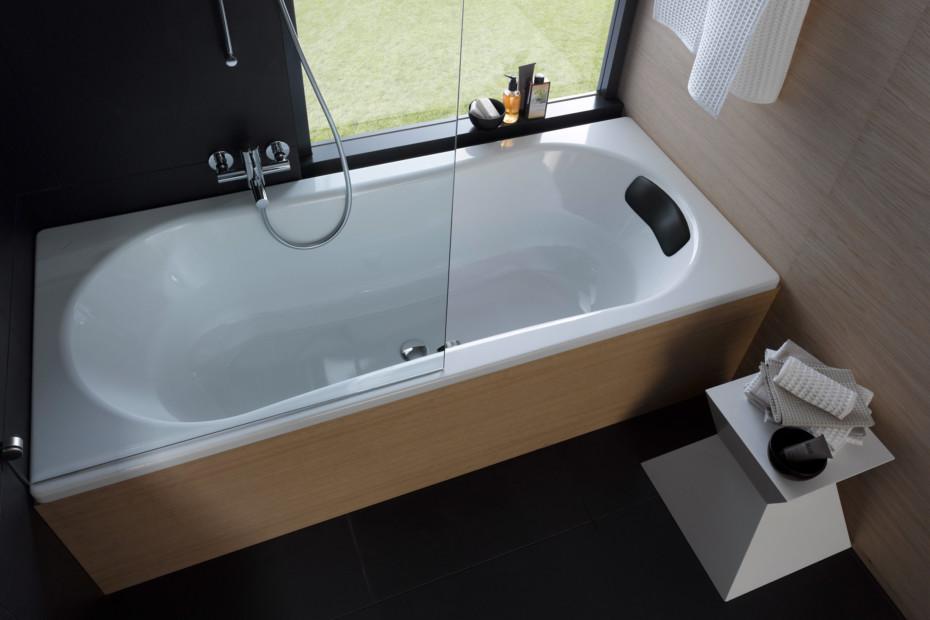 Laufen Solutions steel tub