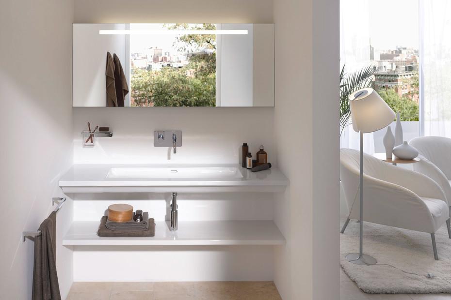 Living square shelf
