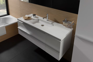 Living square vanity unit large  by  Laufen