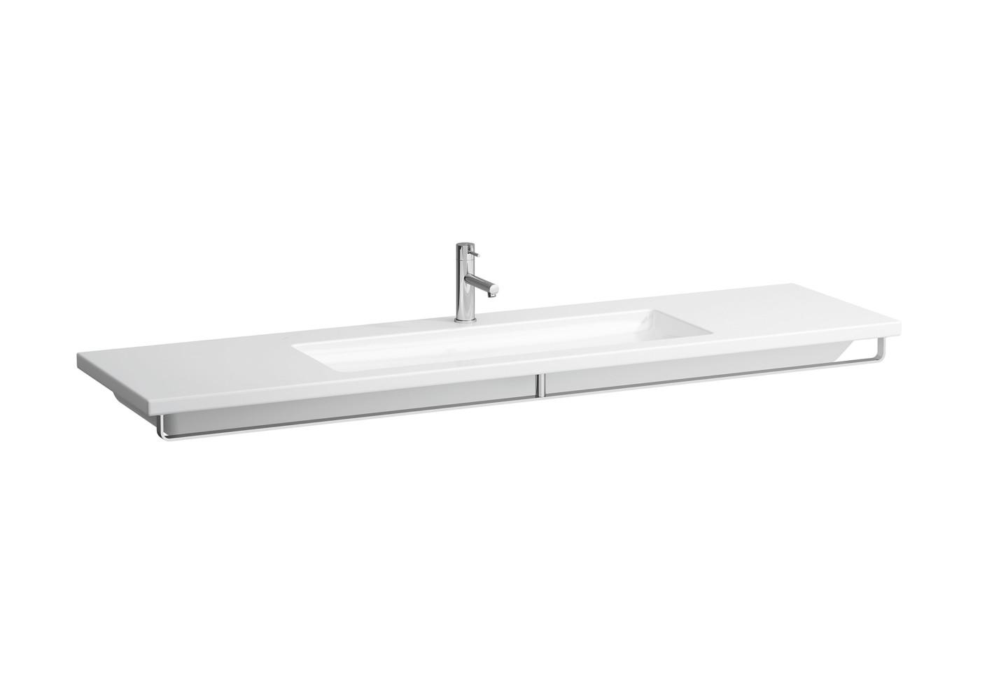 living square waschtisch mit handtuchhalter von laufen stylepark. Black Bedroom Furniture Sets. Home Design Ideas