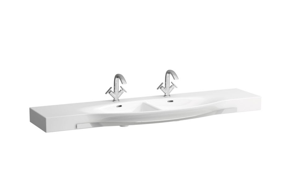 Palace double washbasin with towel rail