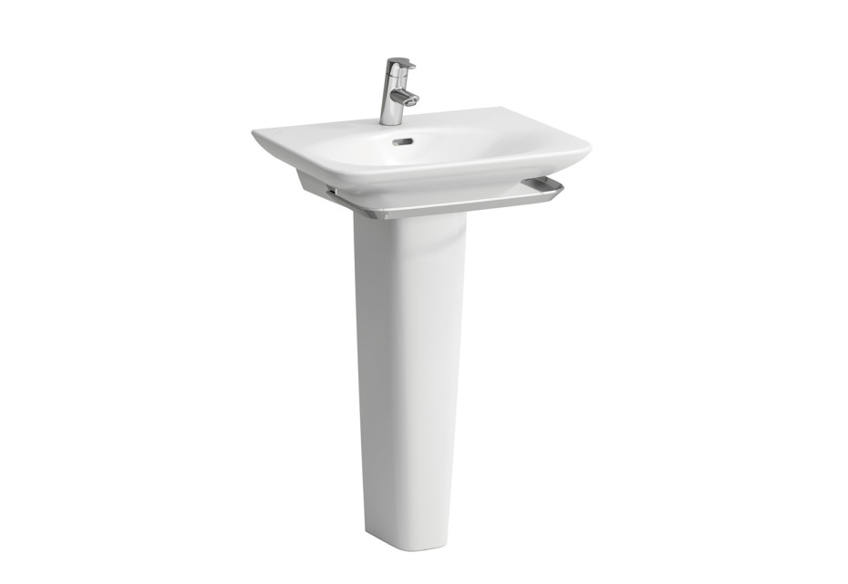 Palace washbasin with pedestal/ towel rail