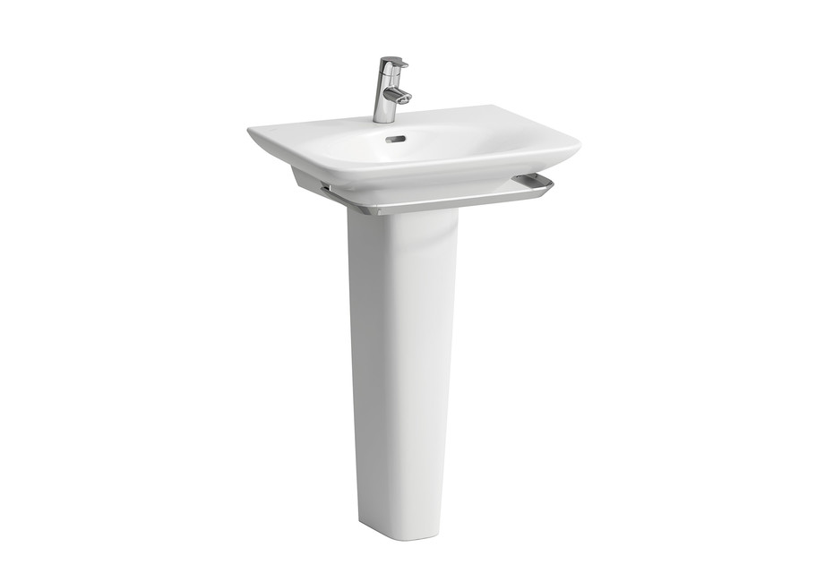 Palace washbasin with pedestal/ towel rail