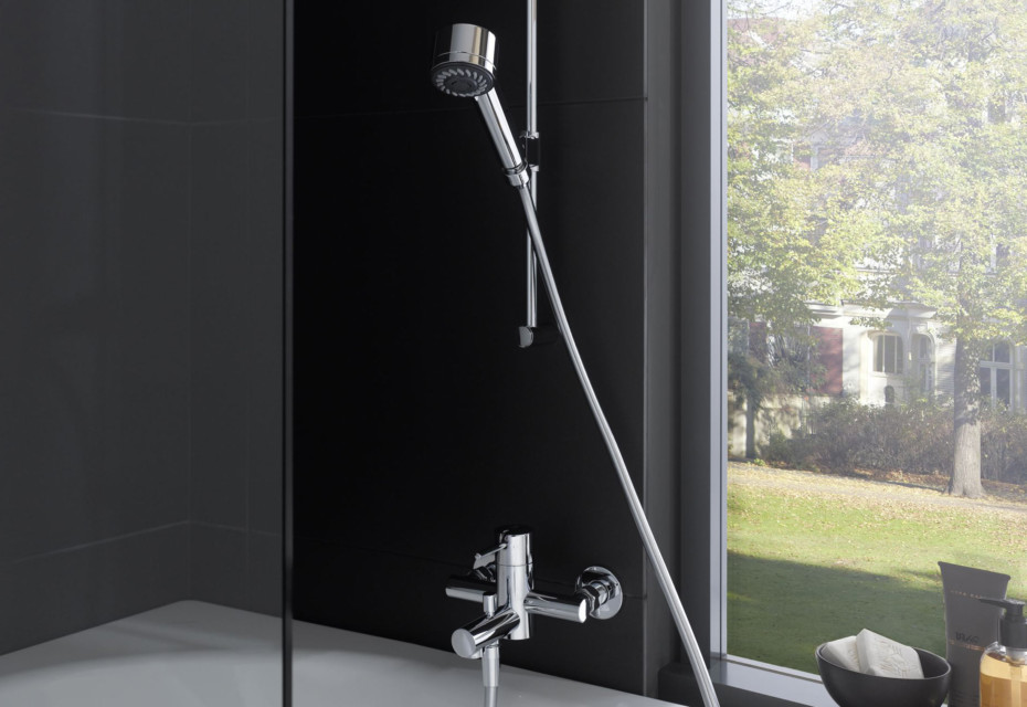 Twinprime pin single lever shower mixer