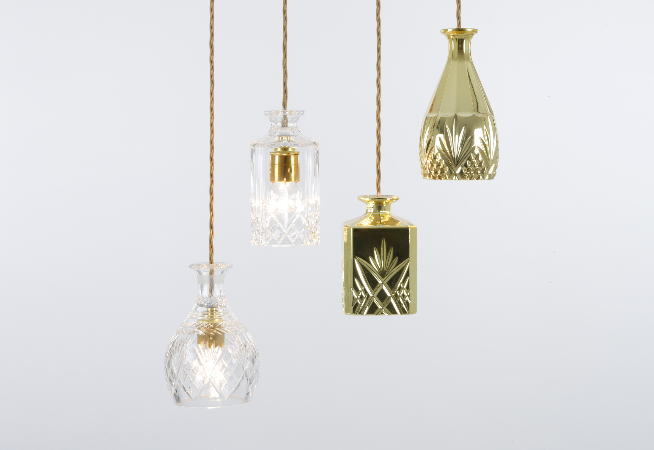 Decanterlight Gold Bell By Lee Broom Stylepark