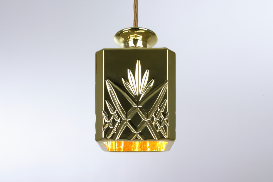 Decanterlight Gold Square