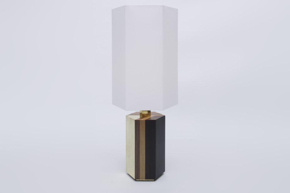 Parquetry Lamp