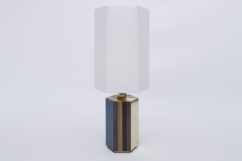 Parquetry Lampe