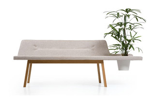 Lin Pod Bench  by  Leif.designpark