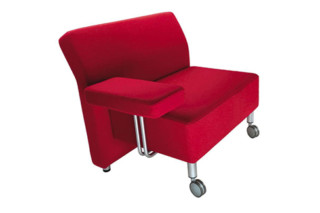 Juna easy chair wide  by  LEPO