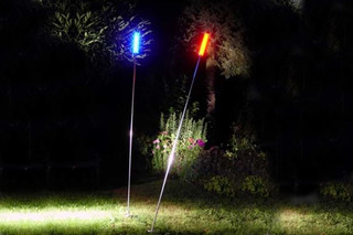 LED Swinging Lightpole  by  LFF Licht Form Funktion