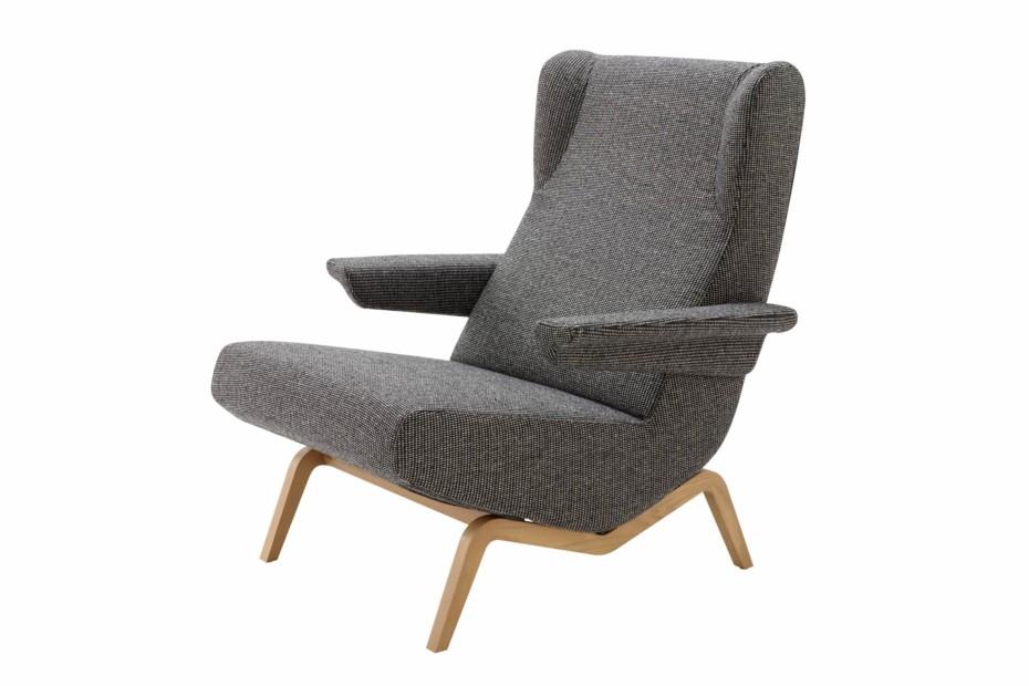archi armlehnensessel von ligne roset stylepark. Black Bedroom Furniture Sets. Home Design Ideas
