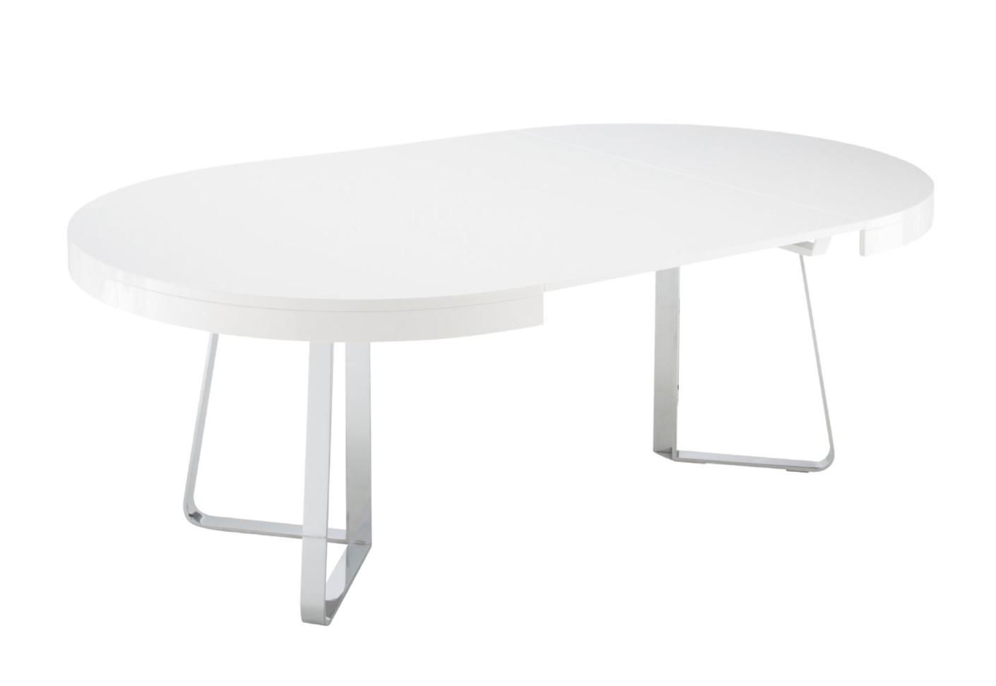 Ava by ligne roset stylepark - Table ovale rallonge ...