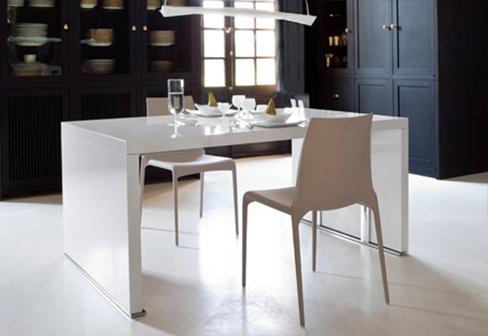 cineline tisch von ligne roset stylepark. Black Bedroom Furniture Sets. Home Design Ideas