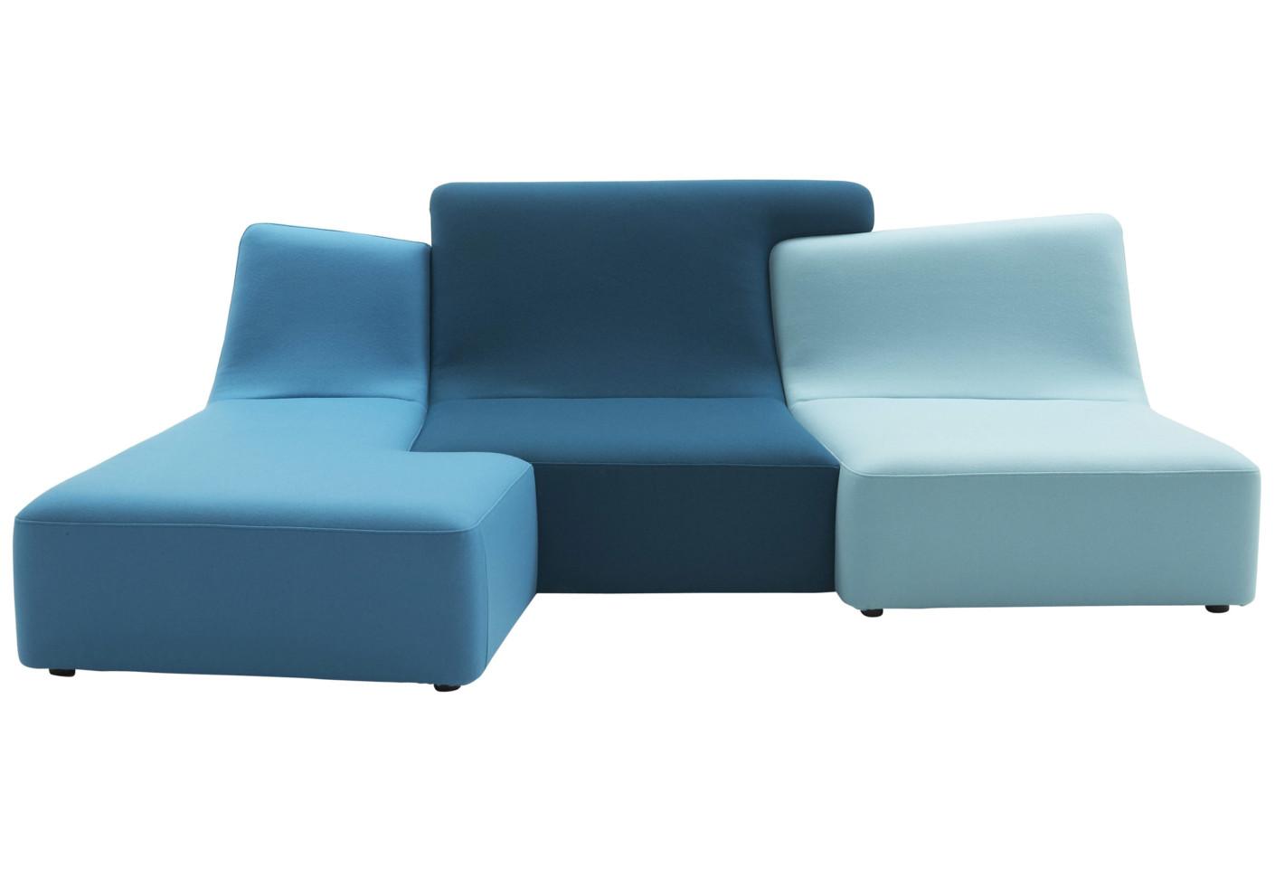 Confluences by ligne roset stylepark - Sofas de dos colores ...