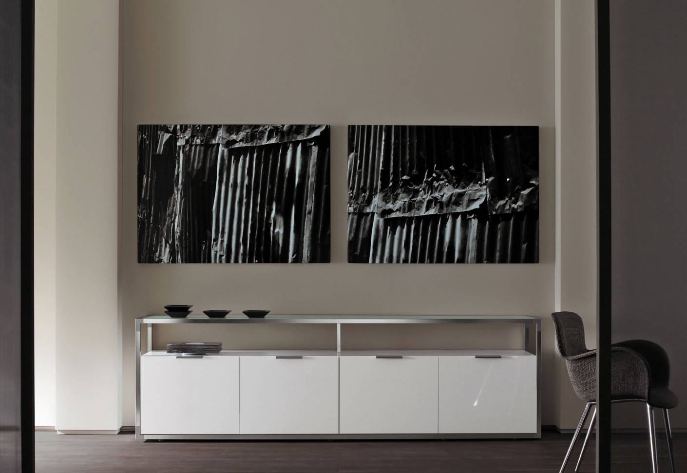dedicato sideboard von ligne roset stylepark. Black Bedroom Furniture Sets. Home Design Ideas