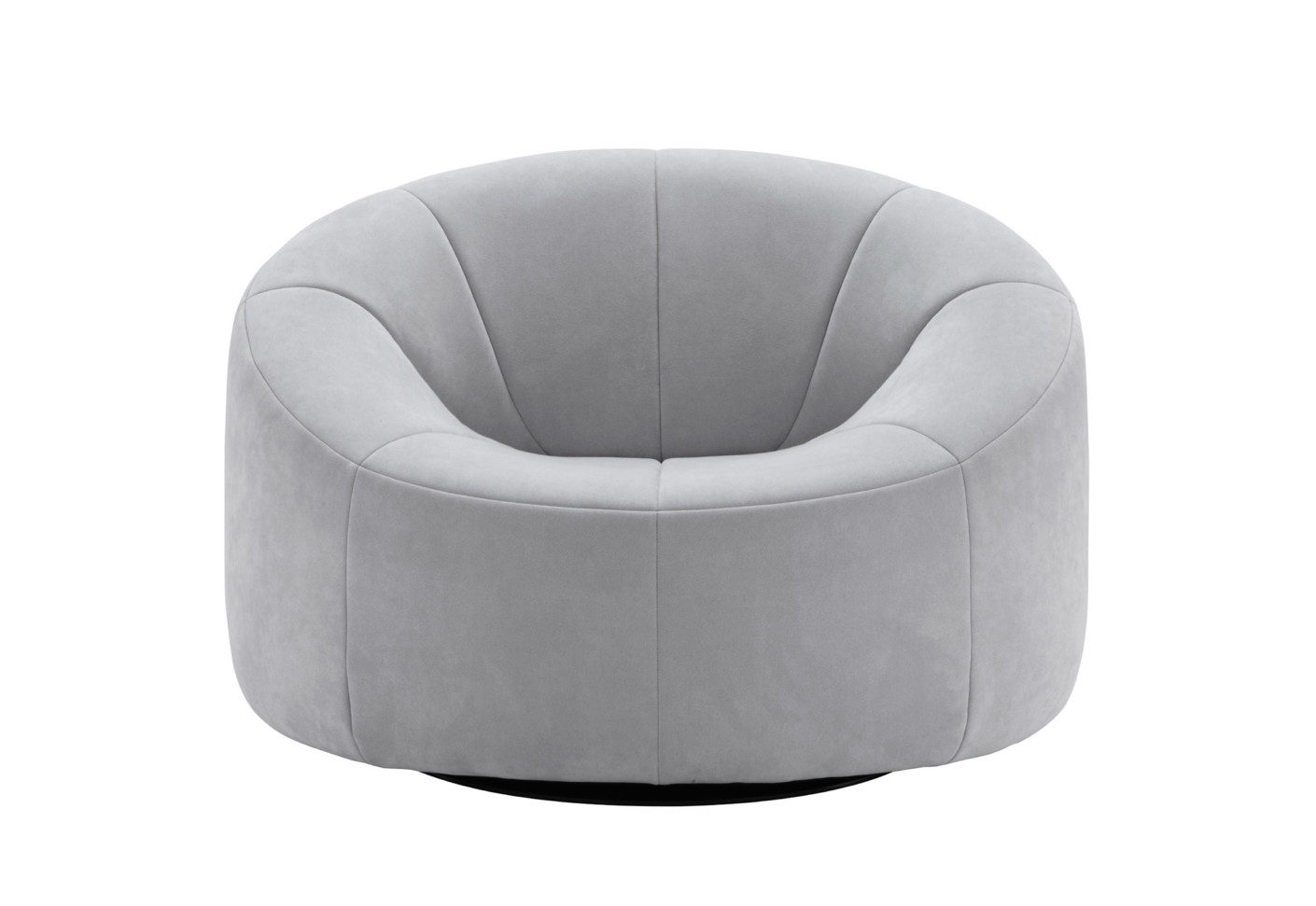pumpkin swivel armchair by ligne roset stylepark. Black Bedroom Furniture Sets. Home Design Ideas