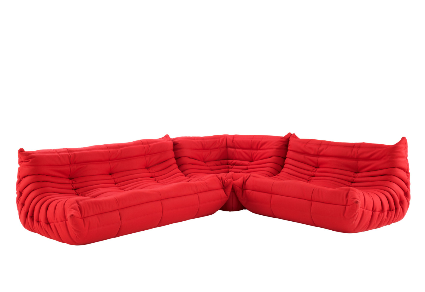 togo sofa 3 seater by ligne roset stylepark. Black Bedroom Furniture Sets. Home Design Ideas