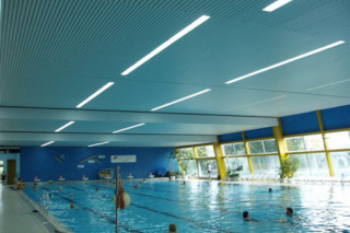 Strip panel ceiling  by  Lindner Group