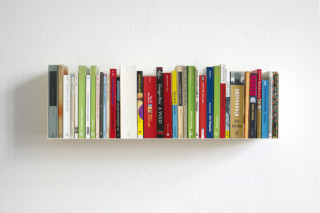linea1 a book and DVD shelf  by  linea1