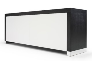 Black and White Sideboard  by  Linteloo