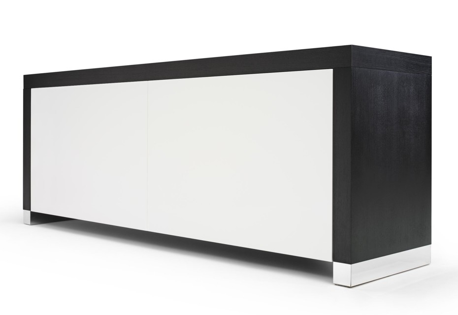 Black and White Sideboard