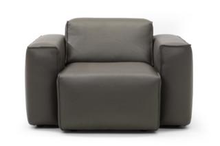 Matu Armchair in Leather  by  Linteloo