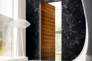 Brezza | Vertical Pivot Door  by  LINVISIBILE
