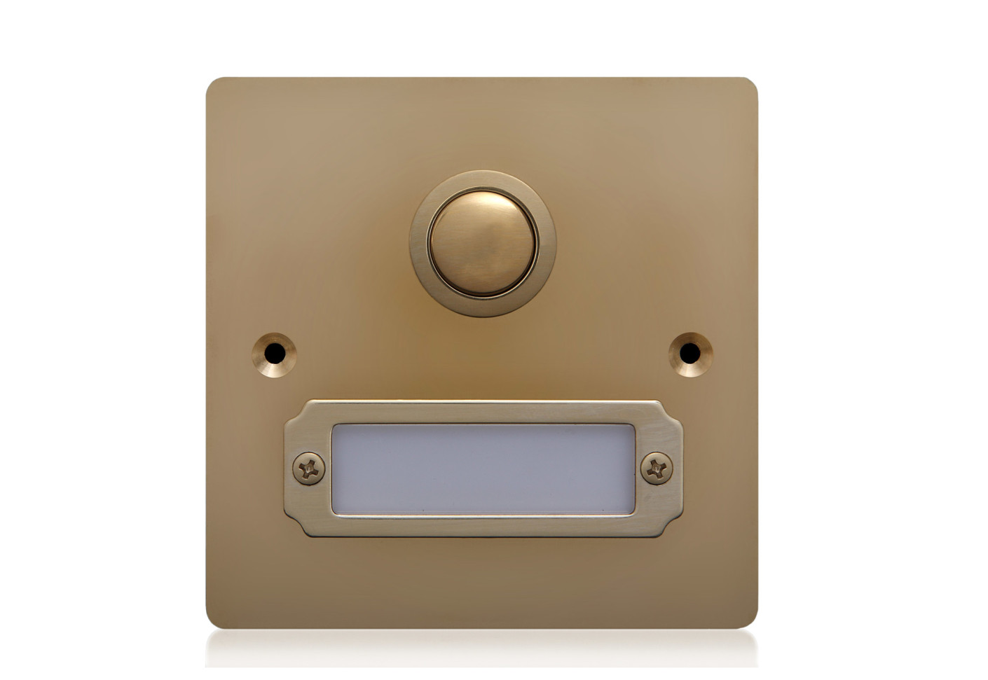 Et1 Floor Bell With Name Plate By Lippert Stylepark
