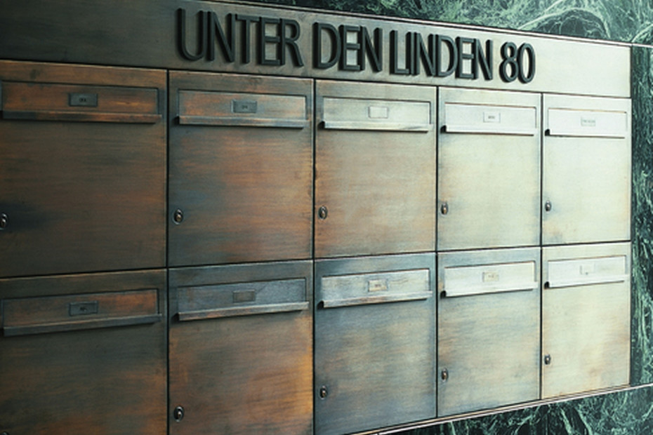 Individual letter box multiple system
