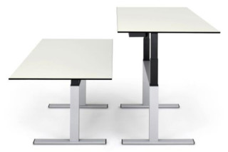 Choice sitting / standing work table  by  Lista Office LO